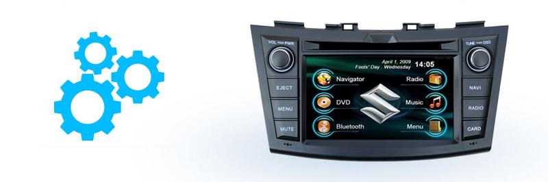 Краткое описание устройства Incar CHR-0711 SW