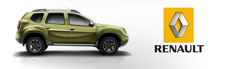 Renault Duster Штатная магнитола