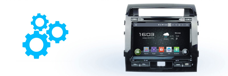 Основные характеристики Incar AHR-2280