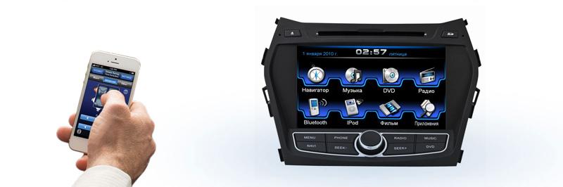 Incar CHR-2492 Подключаемые устройства к магнитоле