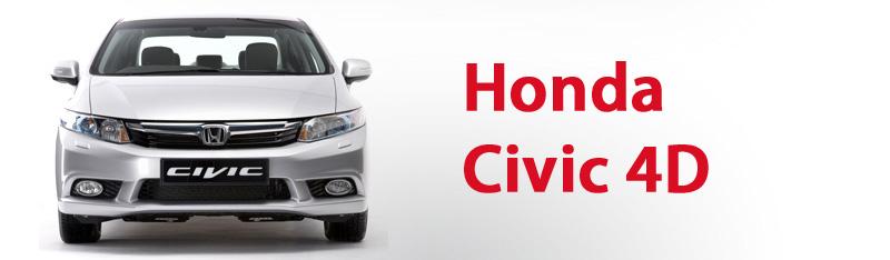 Honda Civic (4D) Штатная магнитола