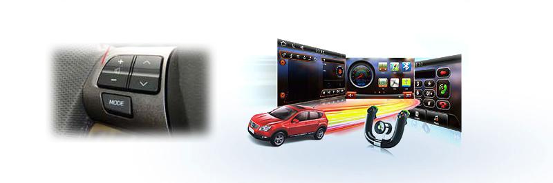 Incar CHR-3612 CV Управление с кнопок на руле