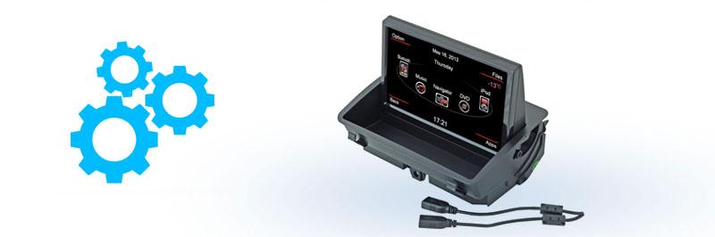 INCAR CHR-4213 Audi Q3 Штатная магнитола