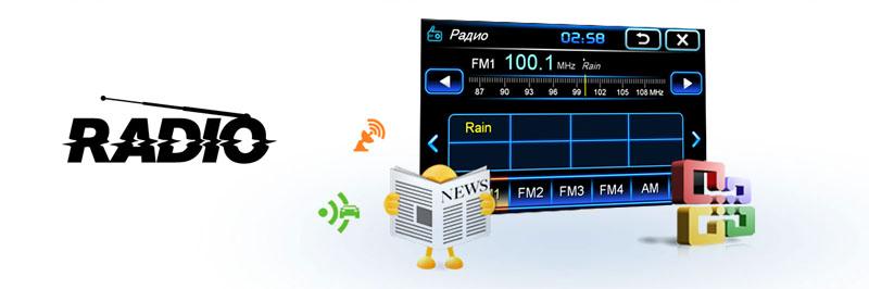 INCAR CHR-4213 Радио