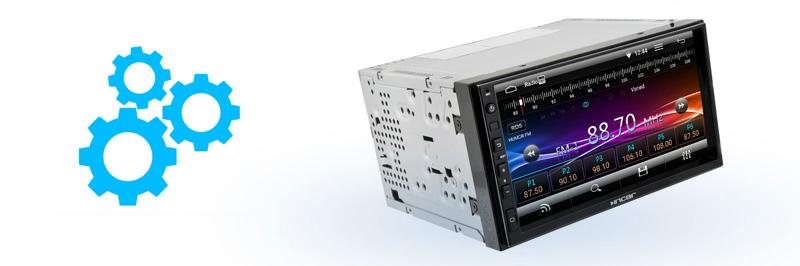 Дизайн, обеспечивающий максимум комфорта при управлении Incar AHR-7380
