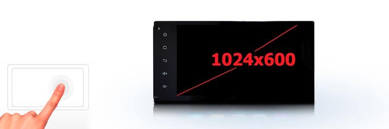 Параметры экрана Incar AHR-8682