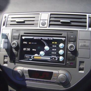 штатная магнитола ford focus 2