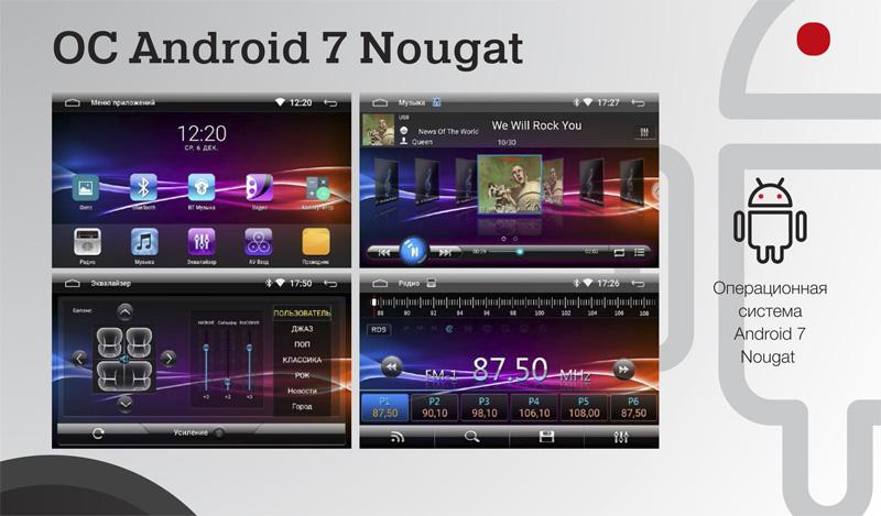 Android 7 Incar AHR-7480, Incar AHR-7080