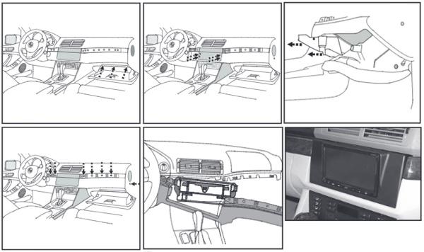 Переходные рамки BMW 3 Е46 в Балашихе 🥇